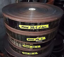 RARE - FILM PELLICULE CINE 70MM - FIRST MEN IN THE MOON - PANAVISION  5 BOBINES