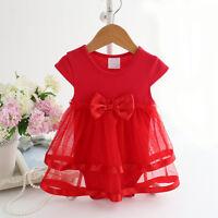 Baby Girl Clothes Bodysuit Romper Jumpsuit Skirt Dress Princess Summer Clothing