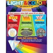 Light and Color Learning Chart Trend Enterprises Inc. T-38296