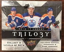2016-17 Upper Deck Trilogy Hockey Factory Sealed Hobby Box