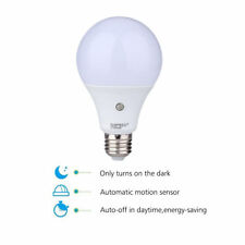 9W E27 LED Auto Light Sensor Bulb Energy Saver Dusk to Dawn Lamp Indoor/Outdoor