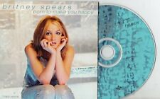 Britney Spears - Born To Make You Happy, CD Single Promo Europa 1999 Cardboard