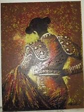 "Huge beauty!composed MATADOR,SPAIN,MEXICO O/B expressionistic 40""x30"" MICHAEL"