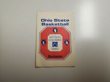 RS20 Ohio State Univ 1976/77 College Basketball Pocket Schedule - Pabst/WTVN