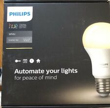 Philips Hue White A19 E27 60W equivalent Smart Bulb Starter Kit (2 bulbs & hub)