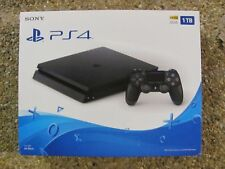 Sony PlayStation 4  Model CUH-2115B 1TB HD Jet Black Console - NEW - SEALED