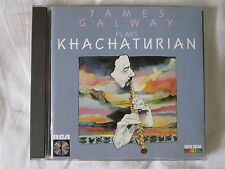 James Galway Plays Khachaturian Concerto For Flute & Orchestra CD