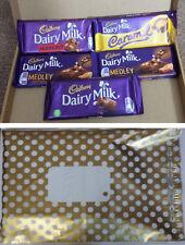 5 x Cadburys Luxury Large Chocolate Bars Selection Gift Box Hamper Gift Wrapped