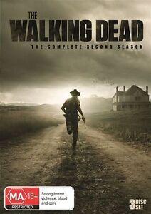 The Walking Dead : Season 2 dvd  ds260  Multi region player required