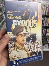 Exodus VHS tape (1960 Paul Newman movie)