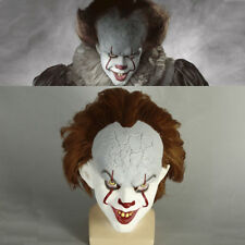 Movie Stephen King's It Mask Cosplay Pennywise Clown Mask Scary Joker Mask New