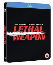 Lethal Weapon blu ray Steelbook ( NEW )