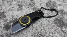 Outdoor Sport Survival Camping Zipper Knife Mini Folding Blade Pocket Knife K015