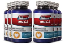 Krill Oil - Fish Oil Omega-3-6-9 3000mg - Highly Concentrated Fish Oil  6B