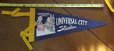 Vintage Universal City Studios Felt Pennant - Nice Condition