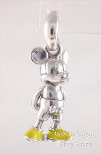 CLASSIC MICKEY Pandora DISNEY Yellow Enamel PENDANT Charm 397394EN06 NEW w BOX