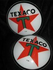 "15"" TEXACO GAS PUMP GLOBE LENSES"