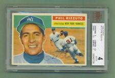 "1956 Topps # 113 - Phil Rizzuto (Shortstop)  New York Yankees ""BVG"""