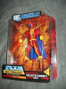 DC UNIVERSE CLASSICS RED TORNADO WAVE 1 ELEMENT MAN