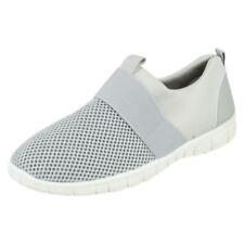 Zapatos planos de mujer de color principal gris sintético talla 38