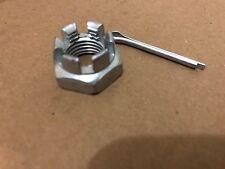 New Fiat X1/9 X19 Rear Tie Rod Joint Balljoint End Castle Nut and Split Pin