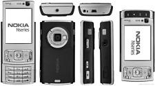 MINT NOKIA N95 - Silver - Unlocked Mobile Phone - UK warranty - Free Sim