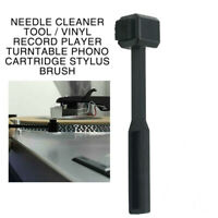 Vinyl Record Player Turntable Phono Cartridge Stylus Brush Needle Cleaner Tool
