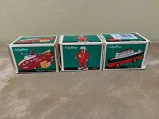 Schylling Tin Toy Collection Collector Series Christmas Ornaments - Set of 3