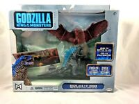Godzilla King of the Monsters - Figure Set - Godzilla and Rodan - NEW