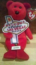 ACES ~ Las Vegas Ty Beanie Baby Babies Bear FREE SHIPPING new