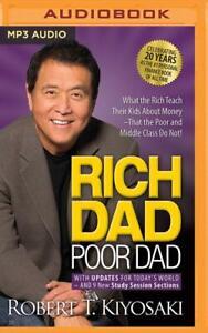 Rich Dad Poor Dad Job by Robert T. Kiyosaki (Audiobook MP3 CD)