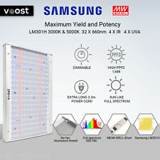 Voost - 1000W Samsung LM301H Full Spectrum LED Grow Light Meanwell replace 300W