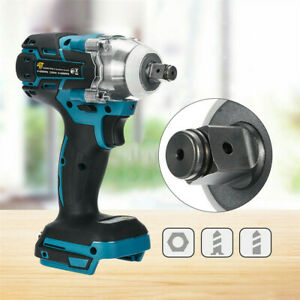 """1/2"""" 18V Electric Cordless Drill Brushless Impact Wrench for MAKITA DTW285Z UK"""