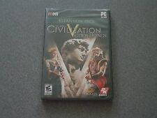 Sid Meier's Civilization V Gods & Kings Expansion Pack PC DVD-ROM  New  Civ 5