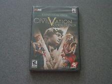 Sid Meier's Civilization V Gods & Kings Expansion Pack PC DVD-ROM  New  Civ 5