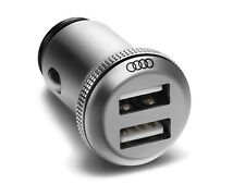 Audi Genuine Factory OEM Accessory - Dual USB Charging Adapter - 8X0051443