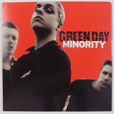 "GREEN DAY: Minority 2 Track 7"" MISPRESSING Rare Black Wax Adrenaline NM Rare!"