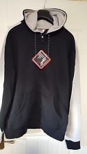 mens clubman hooded top size S black/grey new in bag