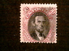 U S stamps Scott 122 ninety cent pictorial issue used cv 2000.00