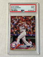 RHYS HOSKINS 2018 Topps BATTING SP RC #259! PSA MINT 9! CHECK MY ITEMS! INVEST!