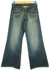 Ripcurl Womens Jeans Size 8 Flare Leg Blue Denim