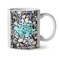 Summer Ocean Rock NEW White Tea Coffee Mug 11 oz | Wellcoda
