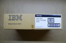 Original IBM Toner 75P5430 schwarz InfoPrint Color 1334 Hohe Kapazität ----- OVP