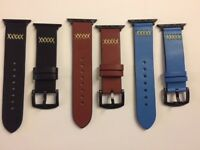 Real Leather Band Strap For Apple Watch Series 38/42mm 3/2/1 Replacement