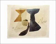 Julius Bissier 26661 Moro 1961 poster immagine stampa d'arte 40x50cm-porto franco