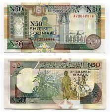 Somalia 50 Shillings 1991 Banknote Paper Money PR2 UNC x 10 Piece Lot