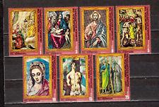 STAMPS Equatorial Guinea Ecuatorial El Greco Art Paintings  MNH