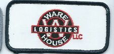 Ware House Logistics LLC employee/driver patch 2 X 4