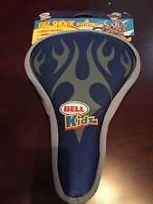 NWT Bell Bicycle Seat Gel Shock Seat Pad Super Cush Ride Blue and Grey