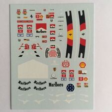 DECALS DRIVER 1/18 FIGURA Michael Schumacher F1 FERRARI WORLD CHAMPION FIGURINE